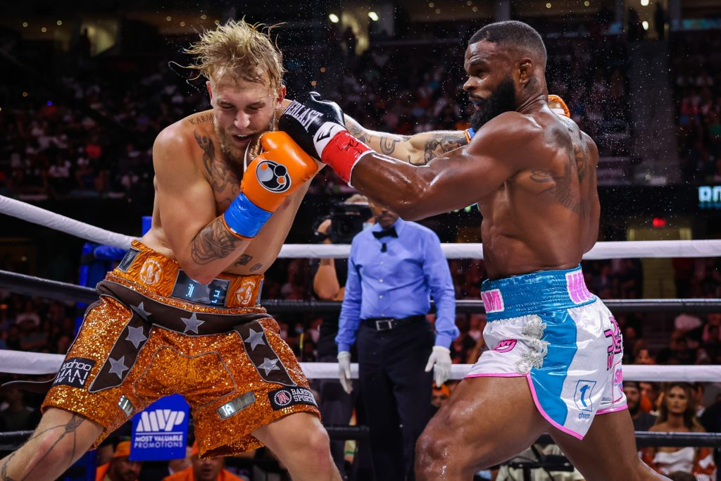 Jake Paul Outlasted Tyron Woodley For Eight Round Decision