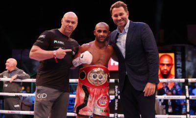 Kid Galahad Resigns With Matchroom Boxing