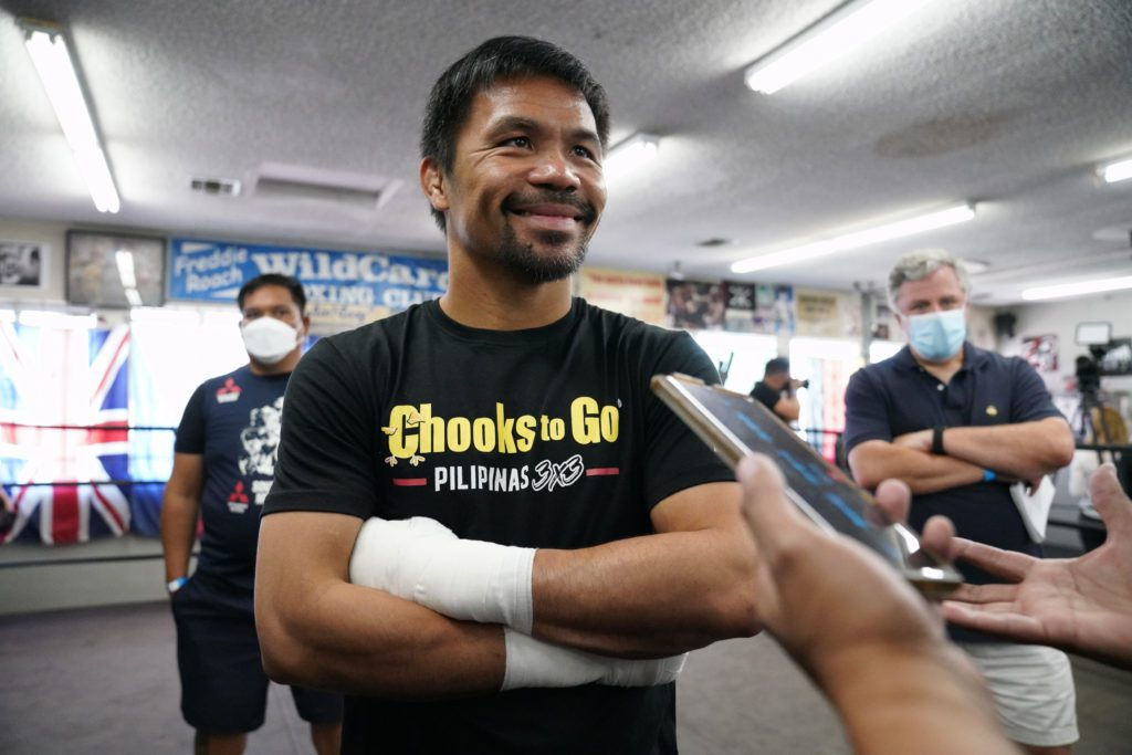 Manny Pacquiao Confirms He Will Run For Philippines President