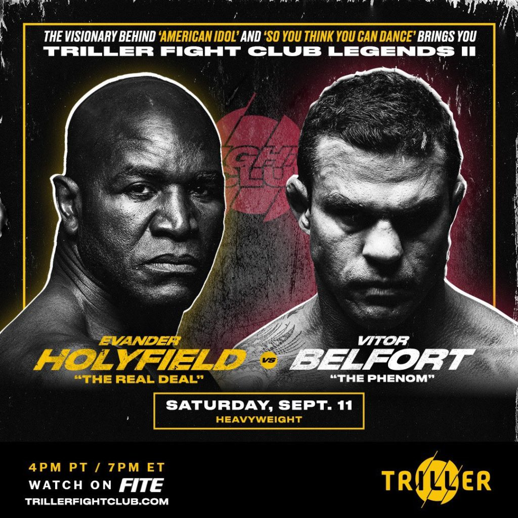 Florida Commission Approved Saturday Holyfield-Belfort Fight