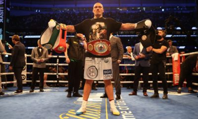 Judges All Agreed- Usyk Upset Joshua By Sweeping Final Rounds