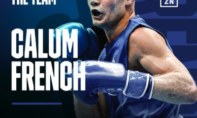 Calum French Signs With Matchroom Boxing