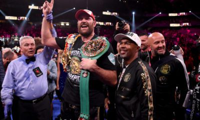 Tyson Fury Suggests Perfect Trainer For Anthony Joshua- Him