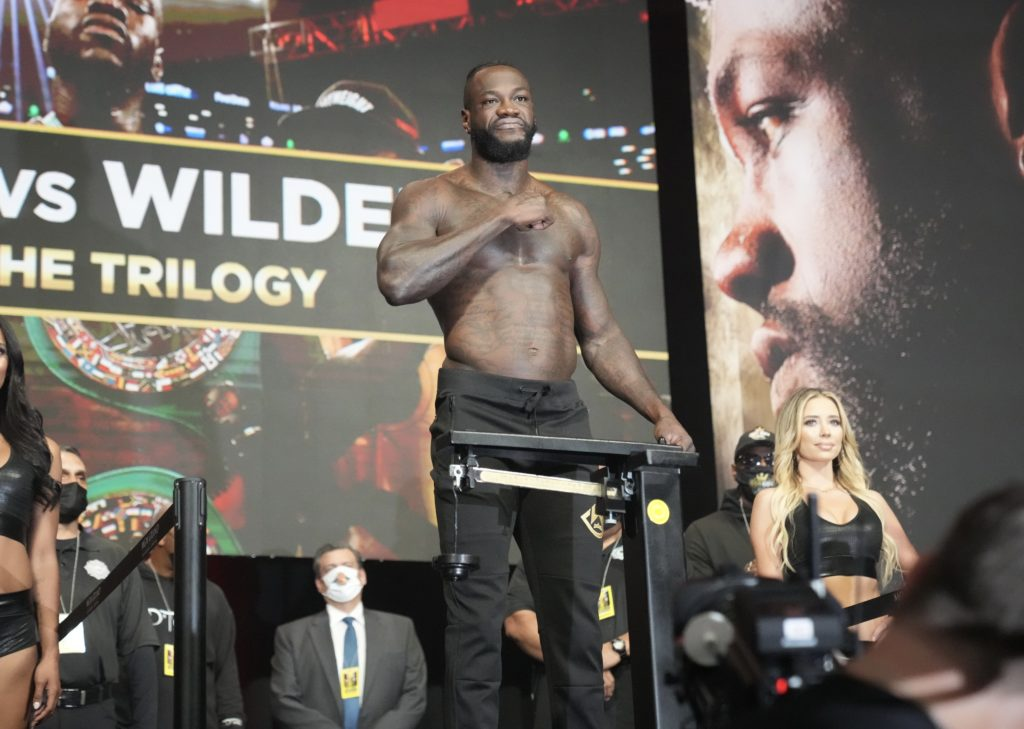 Tyson Fury-Deontay Wilder Trilogy Fight By Numbers