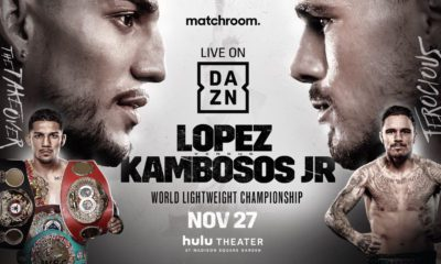 Lopez-Kambosos Set For DAZN In Nov.