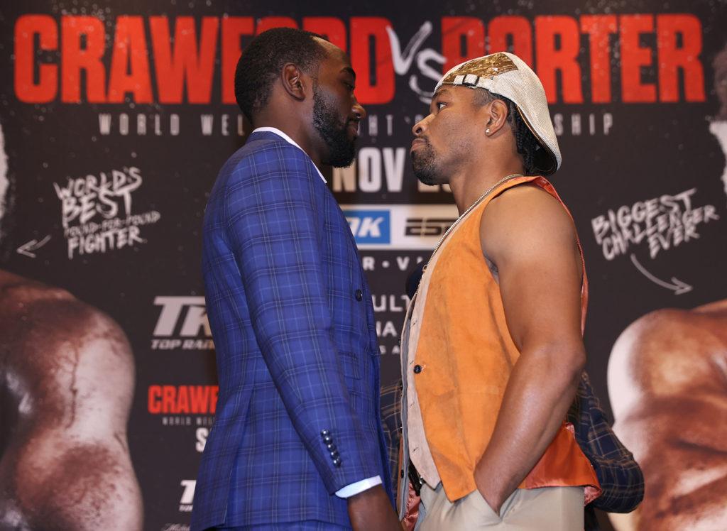 Crawford-Porter Kicked Off Words Saturday
