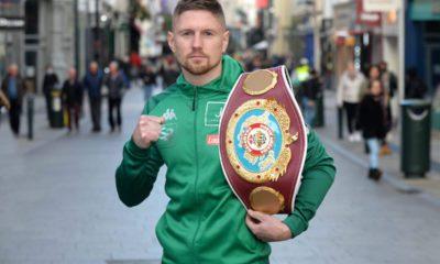 Jason Quigley Looking To Bring Belt To Ireland