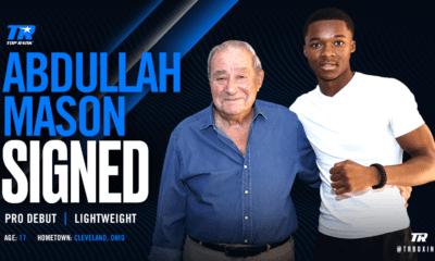 Top Rank Signs Decorated Amateur Abdullah Mason